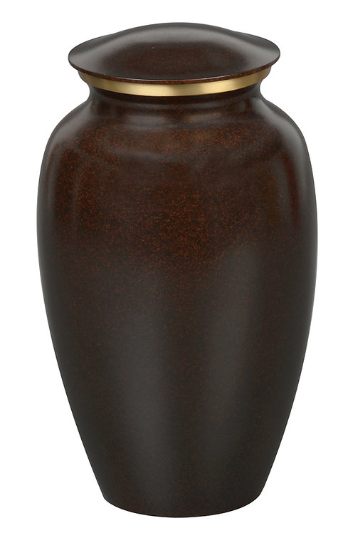 Maus Granite Finish Solid Brass Urn