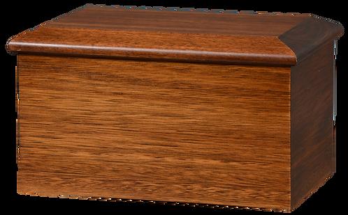 Warwick Mahogany - Solid Mahogany Cremation Urn