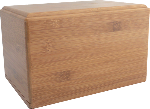Basic Bamboo - Solid Bamboo Cremation Urn