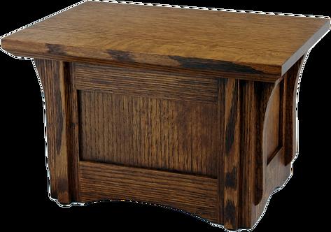 Monterey - Solid Oak Cremation Urn