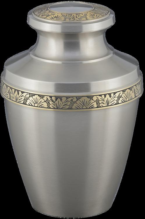 Odessa Solid Brass Cremation Urn