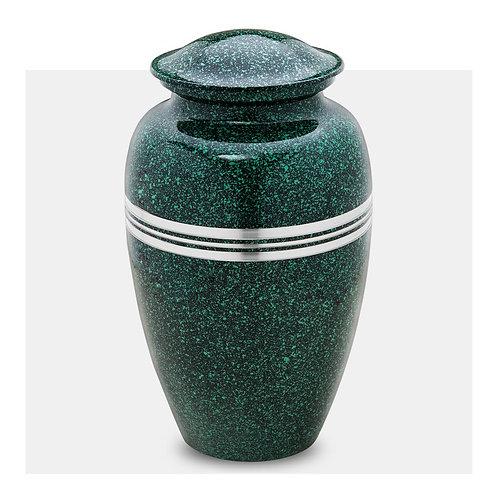 Speckled - Solid Brass Cremation Urn