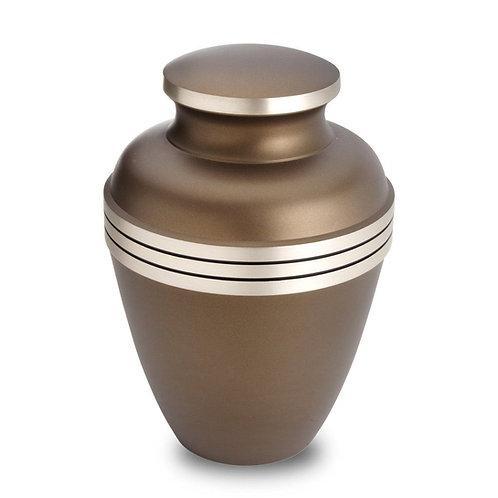 Saturn - Solid Brass Cremation Urn