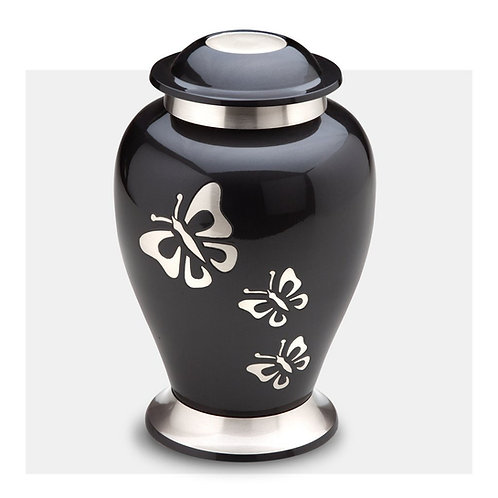 Tribute Butterfly - Solid Brass Cremation Urn