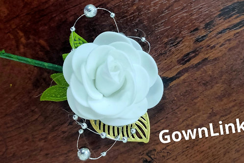 Gownlink Boutonniere Buttonholes Groom Favor Coat Flower  India