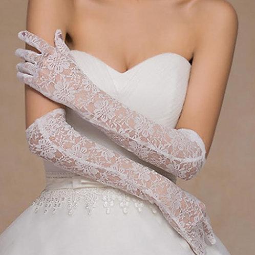 Christian Wedding Gowns Catholic  White wedding [23] gloves  India