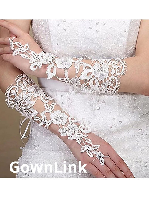 Christian Wedding Bridal gloves Accessories [9] India