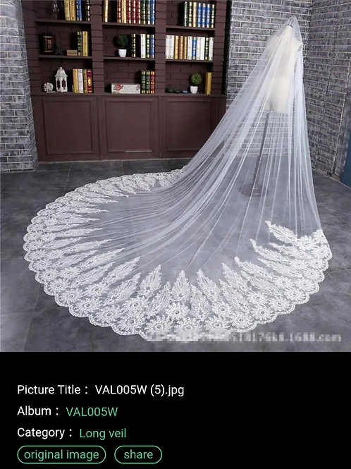 Christian And Catholics Bridal Wedding Veil With Front Face Layer GLVAL005 India
