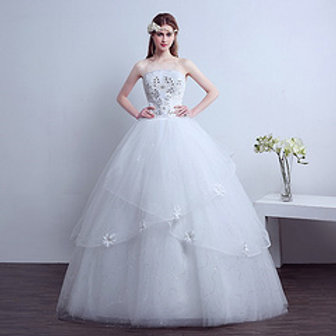 Christian Gown Beautiful Wedding  Dress Gown HMD16050084