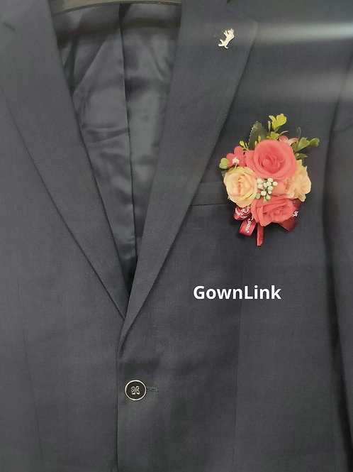 Gownlink Boutonniere  Christian Wedding Groom 41  Coat Flower  4.5*3 Inch  India