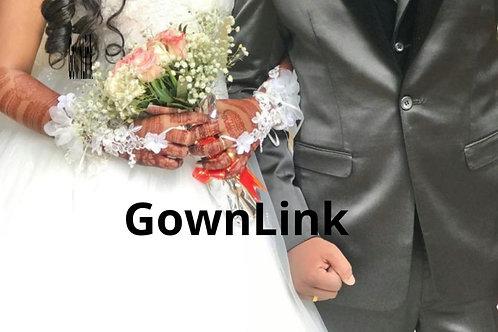 Christian Wedding Bridal White Long Gloves India