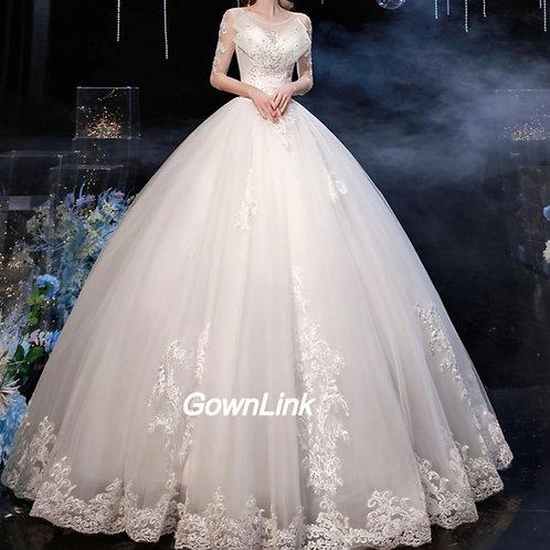Gownlink Christian and Catholic Bridal Wedding Dress GLD830