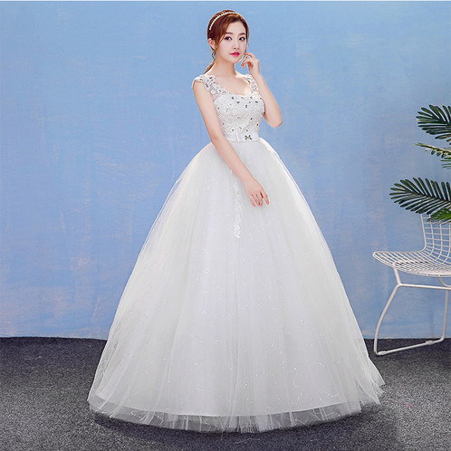 0e35a339765 Christian   Catholics Wedding Bridal Ball Gown HM7007 With Sleeves
