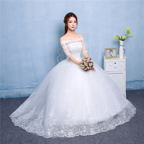 Wedding Christian Special Occasion Party Gown QD212