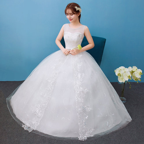 Christian Wedding Special Occasion Party Gown Dress GZ031