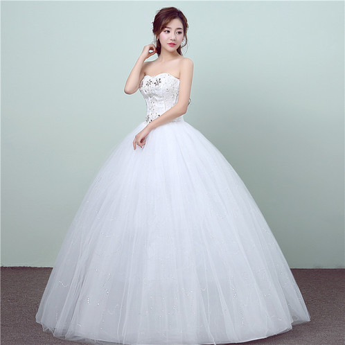 Ball Gown Wedding / Dress / Party /Special Occasion Off Shoulder ...