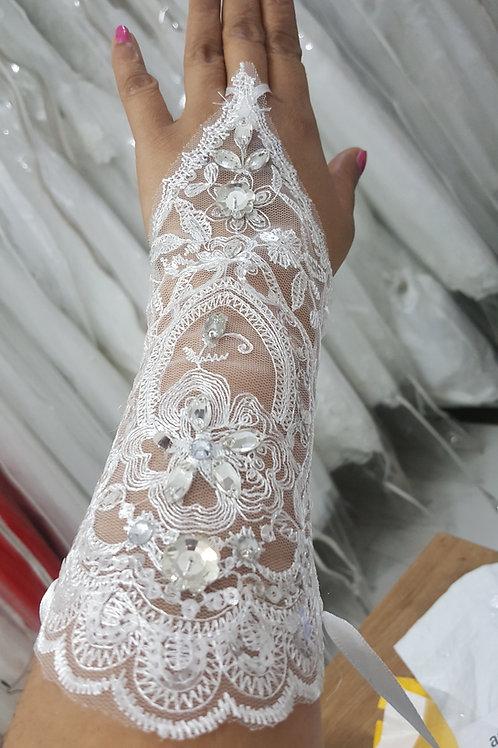 Christian  Wedding  Bridal gloves GLG12