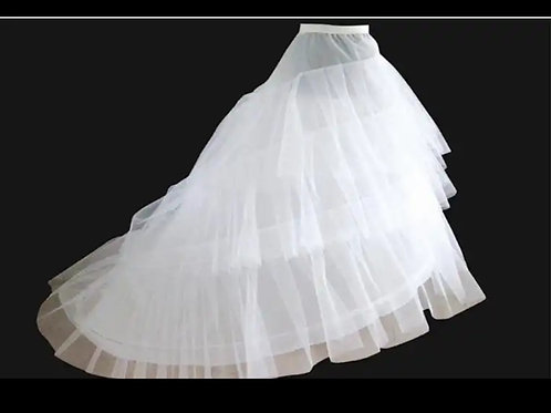 Wired Petticoat for train gown Ball Gowns P03