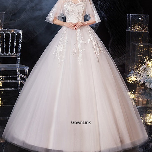 Gownlink Christian and Catholic Bridal Wedding Dress GLH30 India