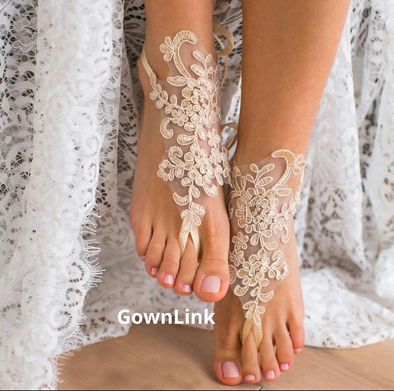 GownLink Anklet For Bride , Bridesmaid , Anklet For Beach Party
