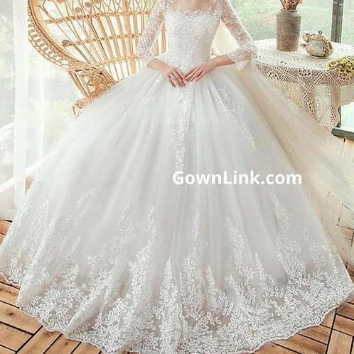 Gownlink Christian and Catholic Bridal Wedding Dress GLTD50B
