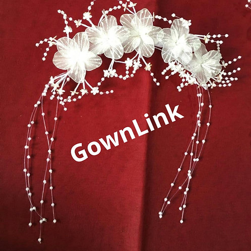 Wedding Crown  wreath For Bridal Hair Accessories GownLink W 83 India