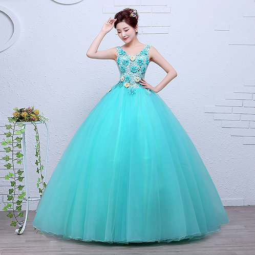 New Wedding Party Photoshoot Party Dress  RR2093-1