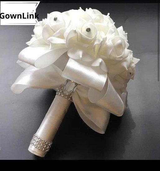 Christian Bridesmaid Small Bouquet   India Bridal  Bouquet Code-98