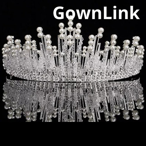 Gownlink Christian Bridal Tiara Crown India
