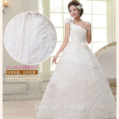 White Wedding Ball Gown