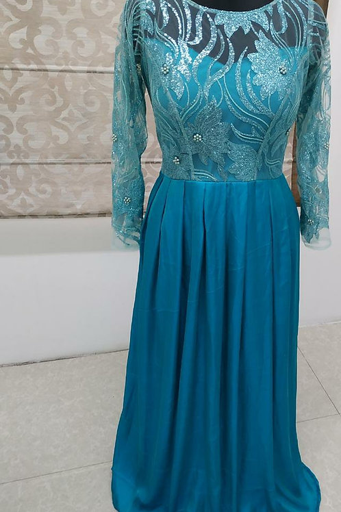 Gownlink Bridesmaid Blue Gown India