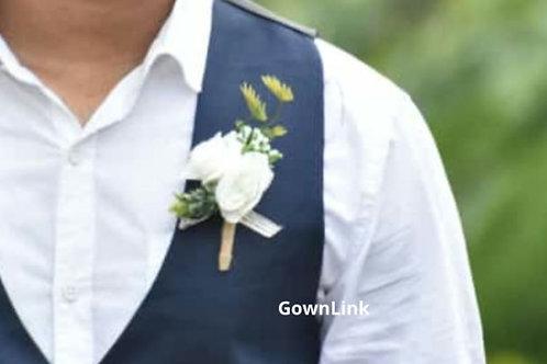 Gownlink Boutonniere Buttonholes Groom Favor Coat Flower 39   India