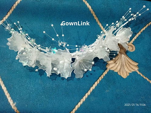 Wedding Crown  wreath For Bridal Hair Accessories GownLink W 82  India