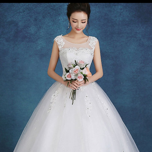 christian Wedding   Ball Gowns  extra sleeves y21