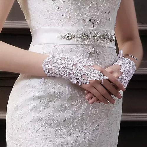 Christian Wedding Bride's Gloves GLG07  India