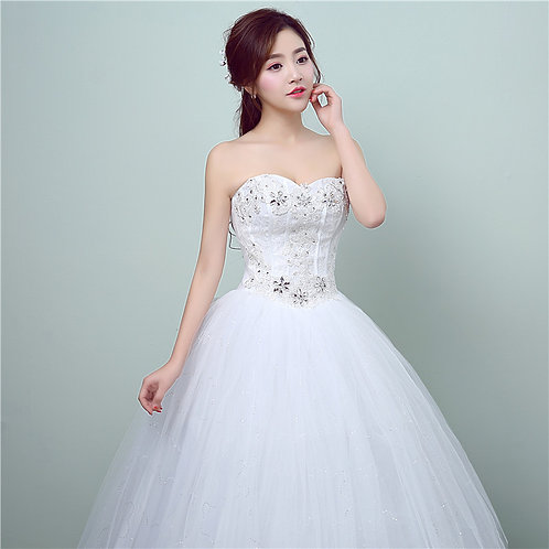 Ball Gown Wedding /  Dress / Party /Special Occasion Off Shoulder GZ175--9