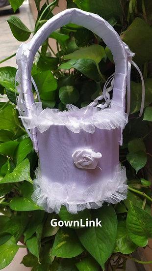GownLink Flower Girl Basket