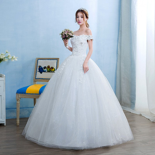 Wedding Gown Ball Dress Christian Wedding Special Occasion GownTD12