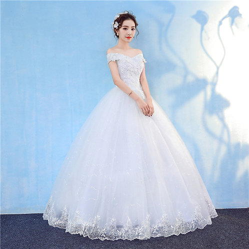 Christian Wedding Gowns Catholic Gowns White Wedding Frock GZ803