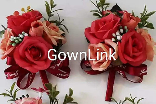 Gownlink Boutonniere  Christian Wedding Groom Coat Flower 1(4.5*3 Inch]  India