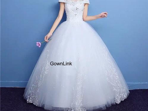 Designer Christian Wedding Gowns Catholic gowns GLQD06
