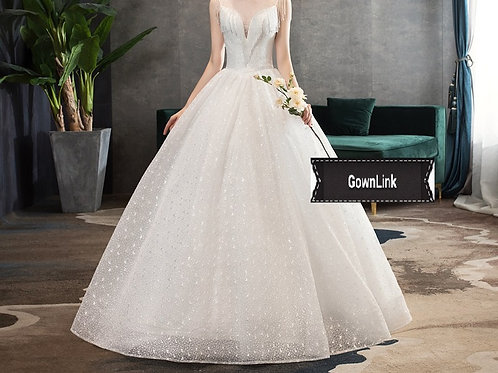 Gownlink Christian and Catholic Bridal Wedding Dress Ball Gowns HS753