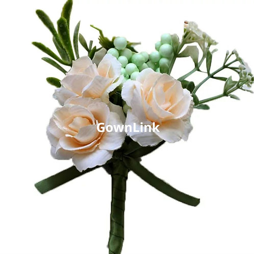 Gownlink Boutonniere Buttonholes Wedding Groom  46  Coat Flower  (4*3 Inch )