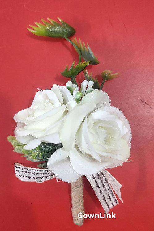 Gownlink Boutonniere Buttonholes Groom Favor Coat Flower  India