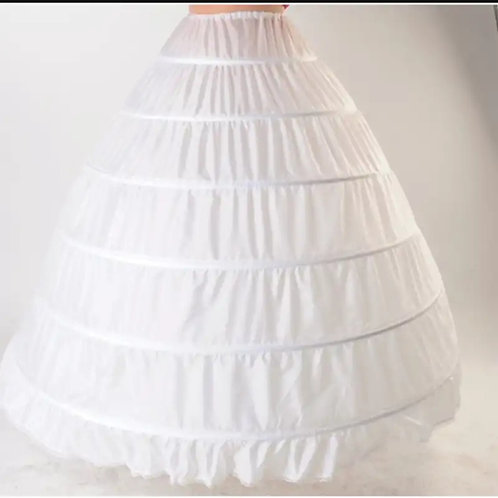 6 Ring under skirt gives gown HUGE ball look P02 INDIA