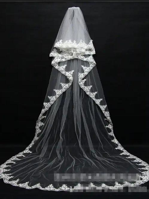 Christian Wedding bridal Veil GLV06 INDIA