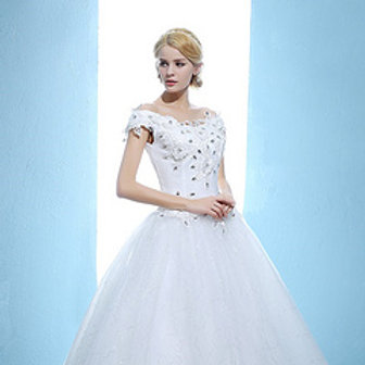 Christian Wedding Party Gown Wedding Ball Dress HMD16050015