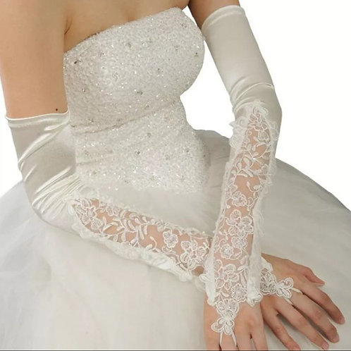 Christian Wedding  Bridal Gloves GLG09