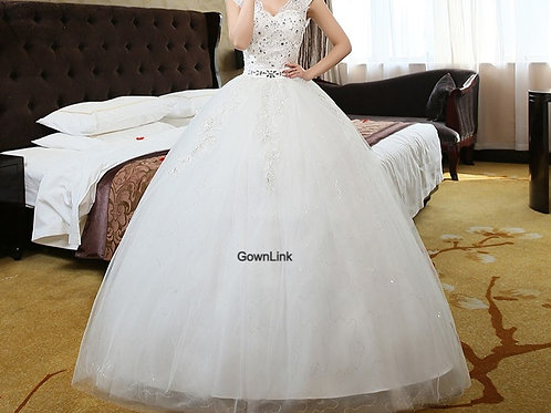 GownLink Ball Gown Wedding / Christian Dress / Party Special Occasion GL614