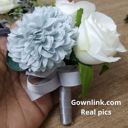 Wedding Groom Coat Flower  (3*3 Inch] Gownlink Boutonniere Buttonholes  India